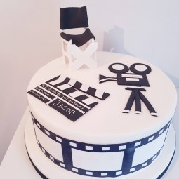 Film and TV theme cake