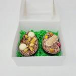 2 x Filled Easter Egg Halfs