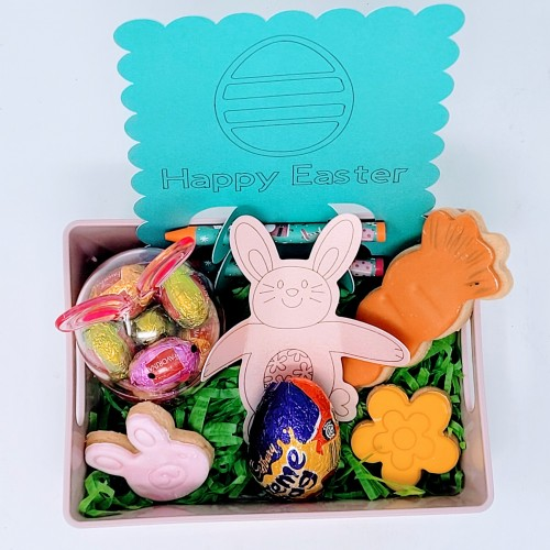 Small Easter Filled Personalised Tray