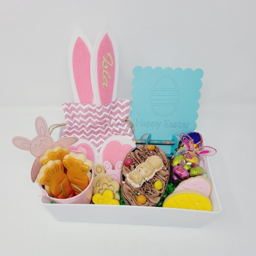 Large Personalised Easter Tray