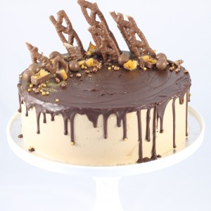 Giant Chocolate Drip Cake.