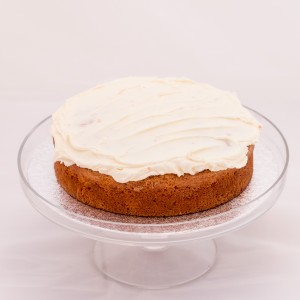 Carrot and Almond Cake with Orange Buttercream