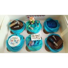 6 x Customised Cupcakes