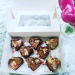 Love heart  Brownies