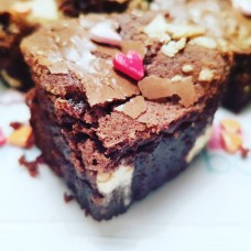 Love heart  Brownies