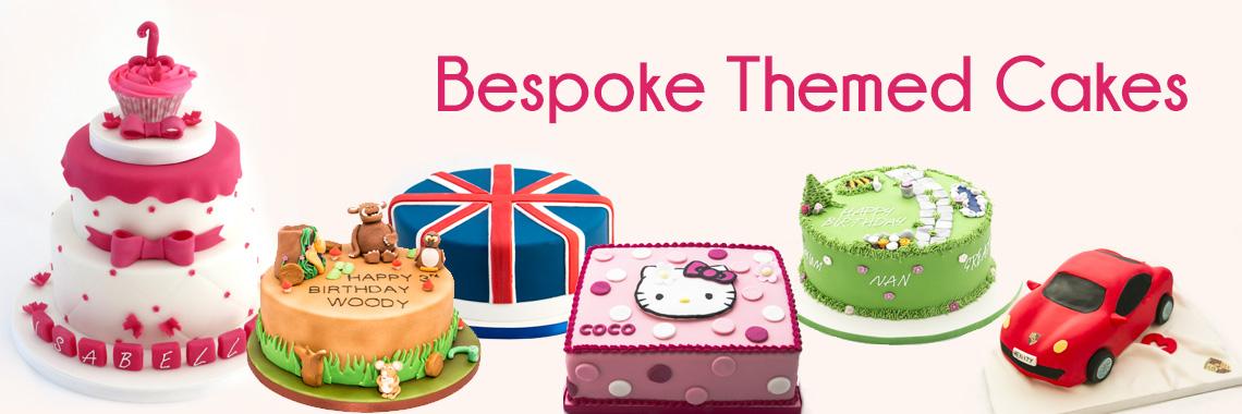 Bespoke Themed Cakes