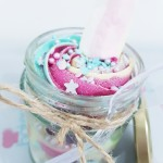 Unicorn Inspired Cupcakes In a Jar x 3 jars