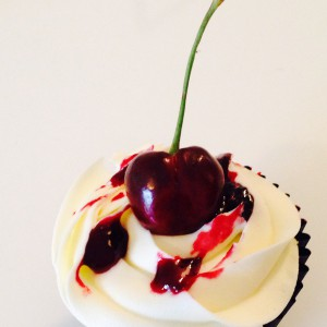 6 x Black Forest Cupcakes