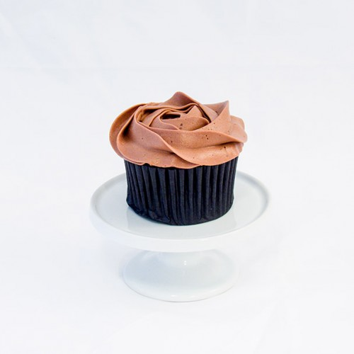 6 x Chocolate Cupcakes with Chocolate Buttercream
