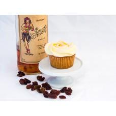 6 x Rum & Raisin Cupcakes